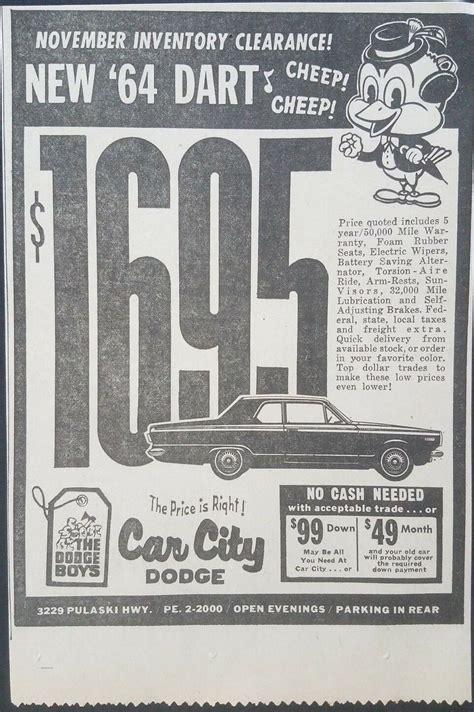 car city dodge dealership baltimore maryland