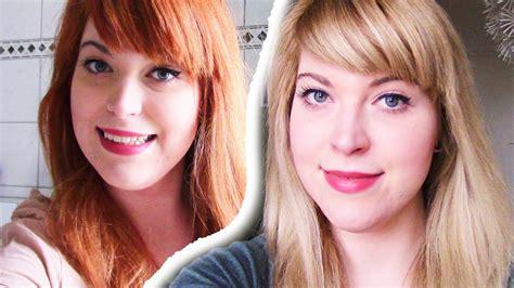 haare natürlich blondieren haare blondieren rot zu blond ohne gelbstich orangestich