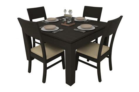 study room table synova ashburn dining table set 4 seater teak wood