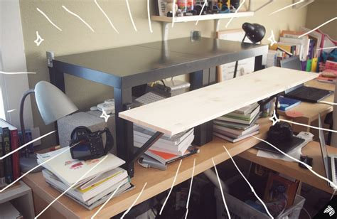 My Diy Standing Desk—the $22$31 Ikea Hack  Imaginary. Music Workstation Desk. Home Depot Pro Desk Hours. Letter Tray With Drawer. Glass Rectangle Dining Table. Outdoor Tables Target. Bankers Desk Lamp Replacement Shade. Counter Height Dining Table. French Side Table