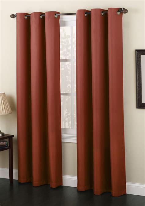 montego woven grommet curtains navy lichtenberg view