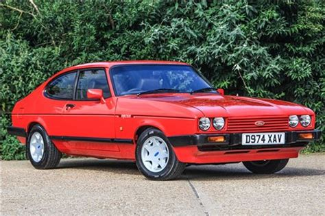 restored ford capri   historics  august auction