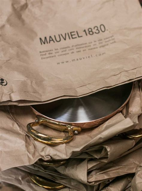 visit  mauviel copper cookware factory