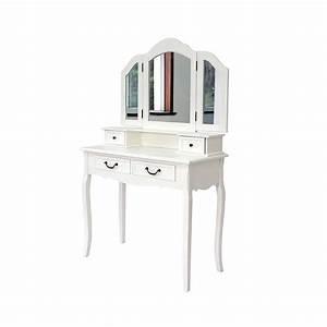 Frisiertisch Mit Spiegel : frisiertisch wooden in wei mit spiegel ~ Frokenaadalensverden.com Haus und Dekorationen