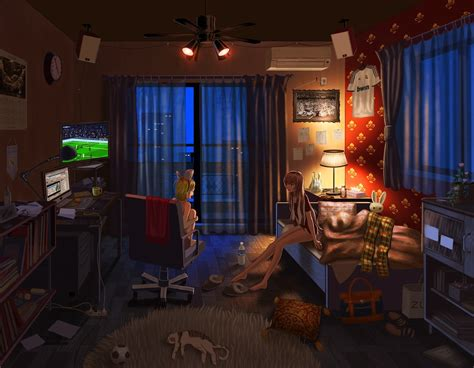 Anime Wallpaper Room - wallpaper anime vocaloid curtains kagamine rin