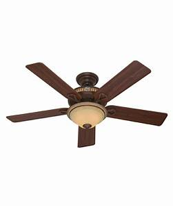 Hunter fan aventine inch ceiling with light