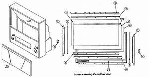 Mitsubishi Projection Tv Parts
