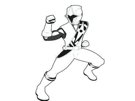 coloriage power rangers ninja steel  imprimer gratuit