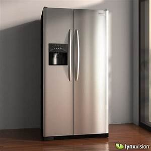 Frigidaire Professional Refrigerator 3d Model  Max  Obj