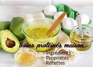 Soin Cheveux Bouclés Maison : masque r parateur cheveux maison oeufs avocat prot ines recettes ~ Melissatoandfro.com Idées de Décoration
