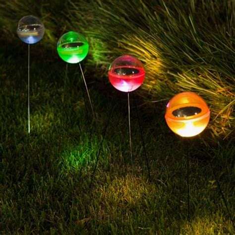 unique ball shaped l powered by sunlight solar light