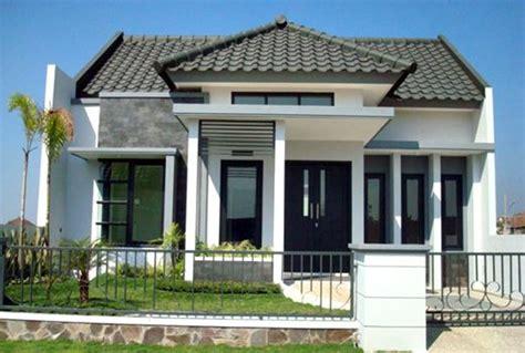 rumah minimalis leter  rumah