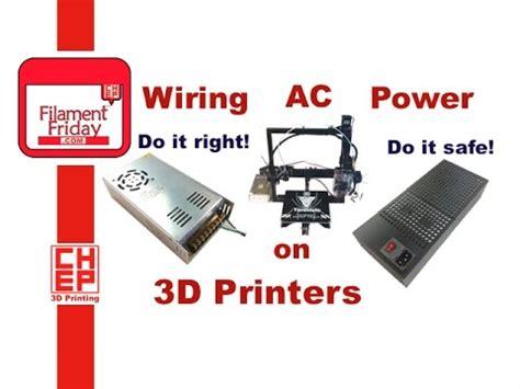 wire ac  power    printer kit power supply