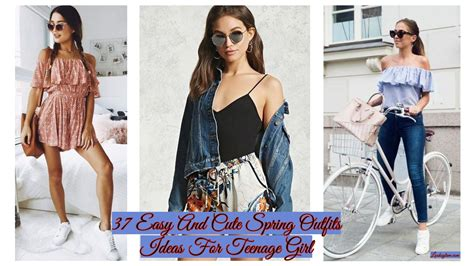 easy  cute spring outfits ideas  teenage girl looksglamcom