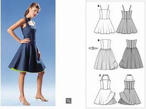 Burda Schnittmuster Download Anleitung : petticoat kleid schnittmuster ~ Lizthompson.info Haus und Dekorationen