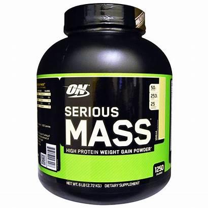 Mass Serious Optimum Nutrition Vanilla Protein Gain
