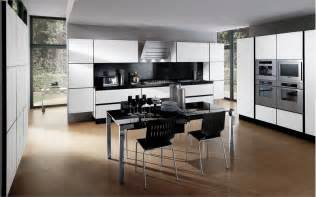 kitchen ideas pictures designs 30 black and white kitchen design ideas digsdigs