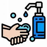 Icon Wash Hand Vector Icons Coronavirus Washing