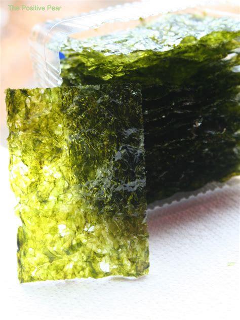 seaweed paper benefits of eating seaweed paper