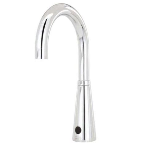delta touch faucet battery delta commercial battery powered single touchless