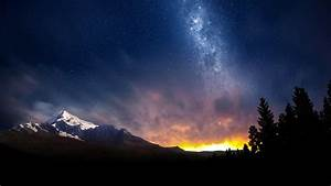 Swiss, Night, Sky, Wallpapers