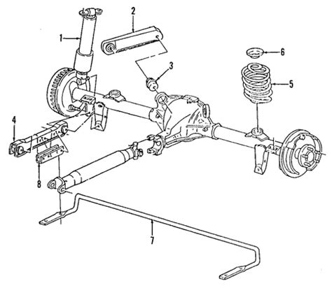 1996 Cadillac Rear Suspension Diagram by Stabilizer Bar Bracket Gm 10280926 Gm Outlet Parts
