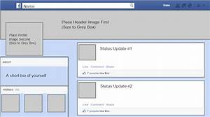 fake facebook post template - facebook template for students covaistech