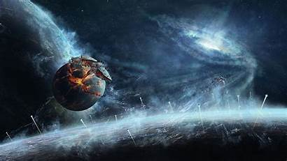 Explosion Galaxy Planet Earth Universe Star Exploding