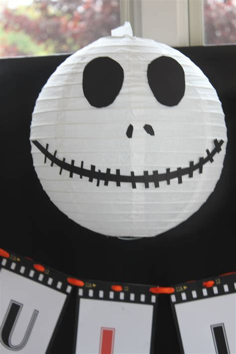 black and white centerpieces a nightmare before christmas party partying with the