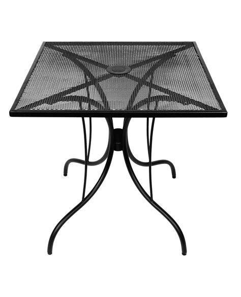 metal mesh top patio table barnegat steel mesh outdoor table tops
