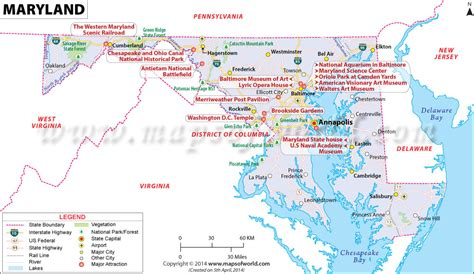 buy reference map  maryland