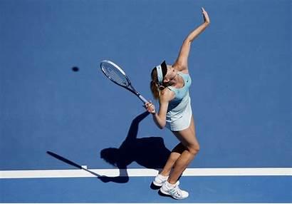 Tennis Sharapova Maria 4k Court Sport Sportswoman