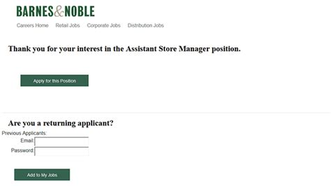 barnes and noble career barnes noble application apply