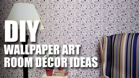 diy wallpaper art youtube