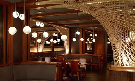dining room interior design of forty four restaurant