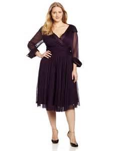 Plus Size Tea Length Formal Dresses