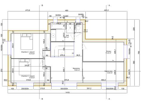 plans de maison en bois maison quasi passive 224 ossature bois 224 vendre pr 232 s de nantes loire atlantique 44 quot la