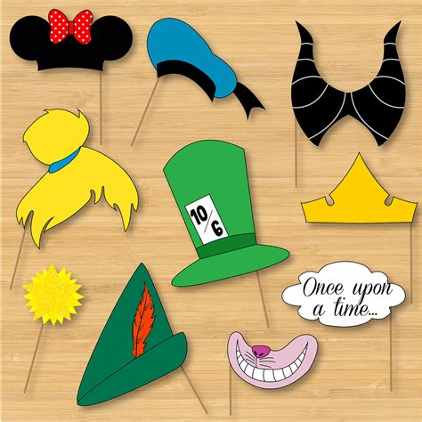 Mickey Mouse Halloween Stencil by Disney Photo Booth Props Mickey Mouse Disney Princess