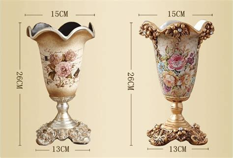 Creative European Style Resin Vase, Wedding And Christmas