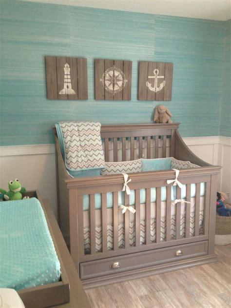 deco chambre bebe design chambre bébé moderne avec déco inspirée par la mer