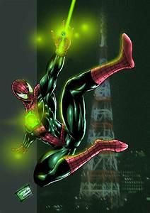 JAM Entry: Green Spiderman by johnbecaro on DeviantArt