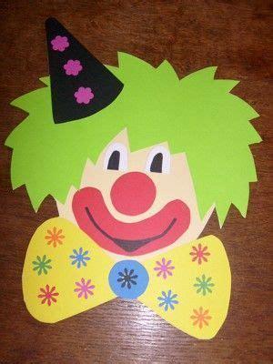 clown gesicht basteln 10 id 233 es suppl 233 mentaires pour votre tableau clown cirque fasching fasching