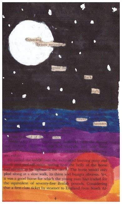 blackout poetry scholastic