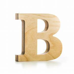 Wooden letter crafted from quality birch plywood hand for Hardwood letters