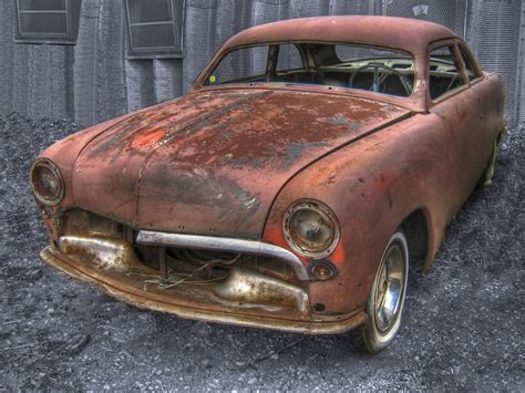Rusty Car In The Desert Wallpaper And Photo High