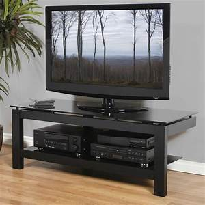 Low Profile 50 Inch TV Stand Black In TV Stands