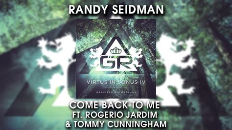 Come Back To Me Ft. Rogerio Jardim & Tommy