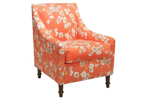 accent chair orange accent from one