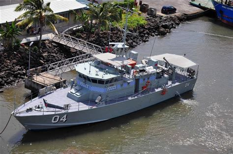 Pacific Class Patrol Boat by Samoa 2016