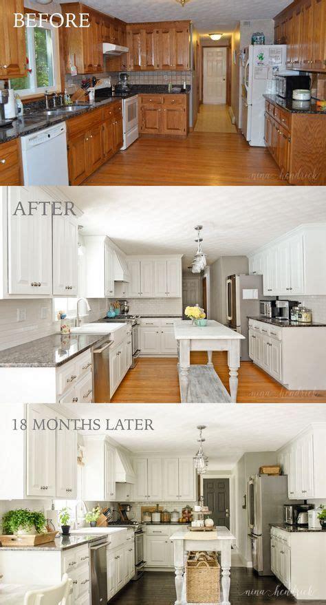 paint oak cabinets  hide  grain kitchen transformations painting kitchen